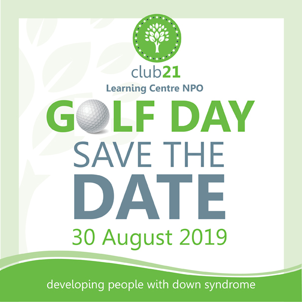 Club 21 Learning Center - Golf Day - Save the Date