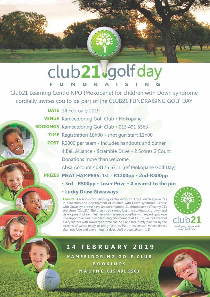 Club21 Learning Center - Golf Day Mokopane